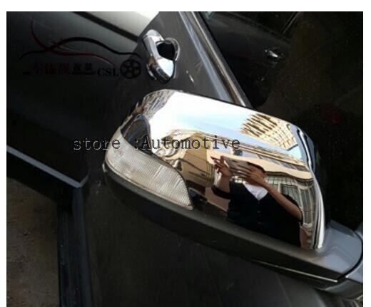 [해외]Honda CRV CR-V 2007 2008 2009 2010 2011Chrome 후사경 미러 바디 사이드 미러 용 2 개 세트/2 pcs FOR Honda CRV CR-V 2007 2008 2009 2010 2011Chrome Rearview Mirror Bo