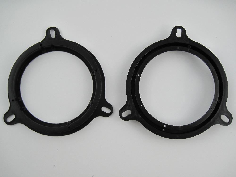 [해외]6.5 & 스피커 마운트 플레이트 어댑터 브래킷 닛산 Altima Frontier GT-R Juke Murano Rogue Sentra Versa Xterra/6.5& Speaker Mount Plates Adapter Brackets Ring fitte