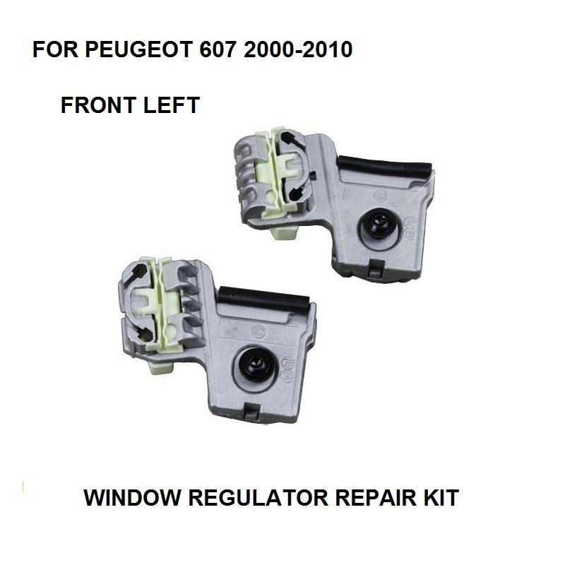 [해외]푸조 607 전기 창 레귤레이터 클립 FRONT-LEFT 2000-201 용 전기 창 금속 클립 키트/ELECTRIC WINDOW METAL CLIPS KIT FOR PEUGEOT 607 ELECTRIC WINDOW REGULATOR CLIP FRONT-LEFT