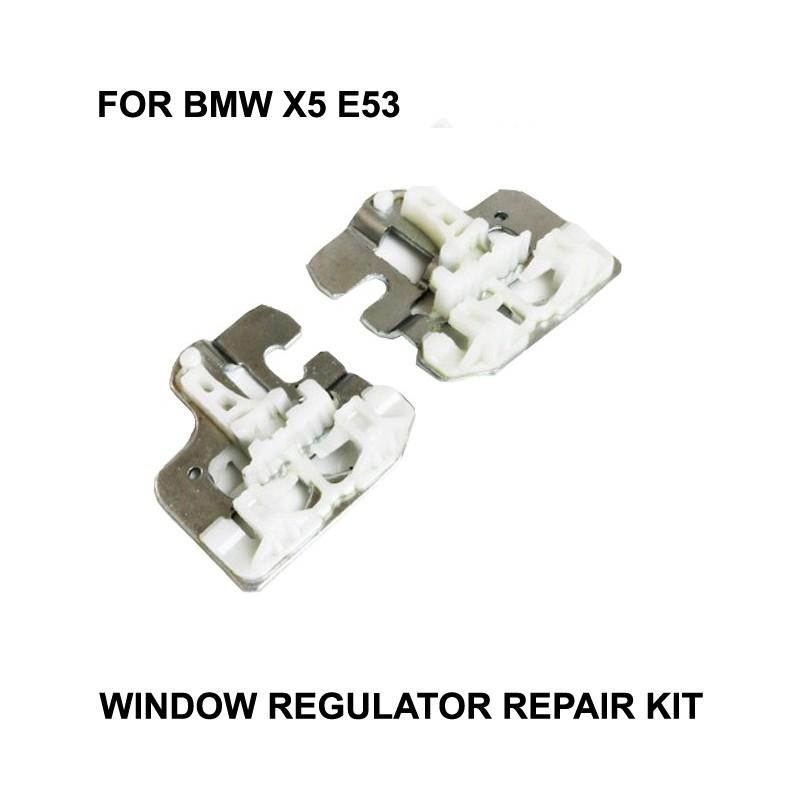 [해외]2000-2015 BMW X5 E53 용 CR 창 금속 클립 창 조절기 수리 금속 클립 슬라이더 정면 우측 또는 좌측/2000-2015 CR WINDOW METAL CLIPS FOR BMW X5 E53 WINDOW REGULATOR REPAIR CLIPSMETA