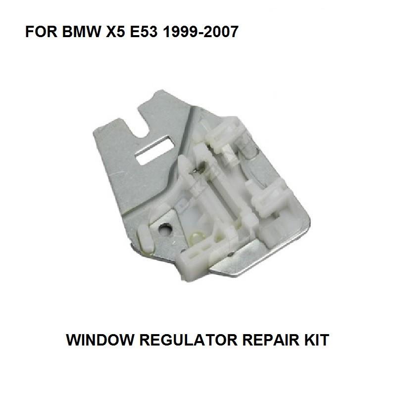 [해외]OE : 51357125060 BMW X5 E53 용 WINDOW REGULATOR 수리 용 CLIPS METAL SLIDER REAR 우측면 99-07/OE: 51357125060 FOR BMW X5 E53 WINDOW REGULATOR REPAIR CLIPS