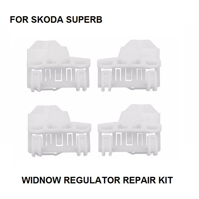 [해외]SKODA SUPERB WINDOW REGULATOR 수리 키트 앞 / 뒤 2001-2009 용 CAR WINDOW 수리 클립 키트/CAR WINDOW REPAIR CLIP KIT FOR SKODA SUPERB WINDOW REGULATOR REPAIR KIT