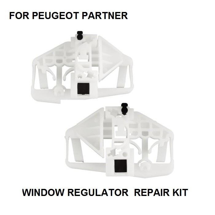 [해외]푸조 파트너 용 윈도우 레귤레이터 수리 클립 앞 또는 왼쪽 또는 오른쪽 1996-2009/FOR PEUGEOT PARTNER WINDOW REGULATOR REPAIR CLIP FRONT-LEFT OR RIGHT 1996-2009