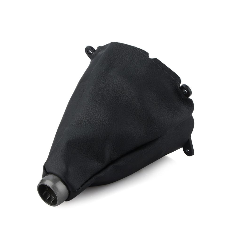 [해외]자동차 수동 기어 시프트 칼라 혼다 forCivic Si 용 가죽 기어 시프트 더스트 슬리브 커버 2006 2007 2008 2009 2010 2011/Car Manual Gear Shift Collars Leather Gear Shift Dust Sleeve