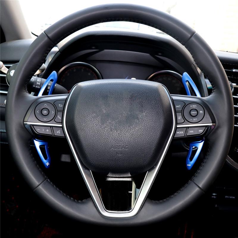 [해외]도요타 캠리 패들 패드 용 8 세대 캠리 패들 패드 재 장착 인테리어 스타일링 액세서리 스티어링 휠 시프트 패들/For Toyota Camry Paddle Pads Eight-generation Camry Paddle Pads Refit Interior Styl