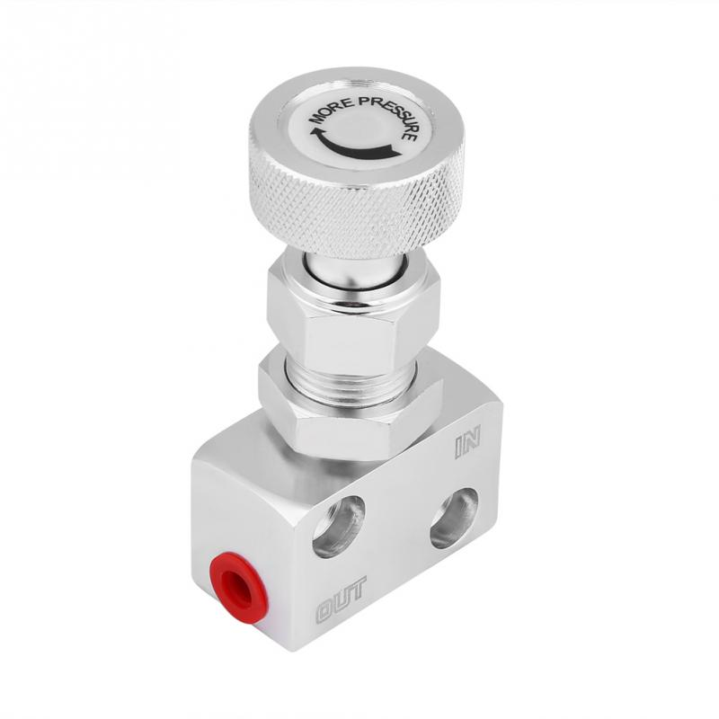 [해외]유니버셜 스크류 타입 알루미늄 브레이크 비례 밸브 조절 가능한 브레이크 브레이크 조정기 (레이싱 카용)/Universal Screw-type Aluminum Brake Proportion Valve Adjustable Prop Brake Bias Adjuster