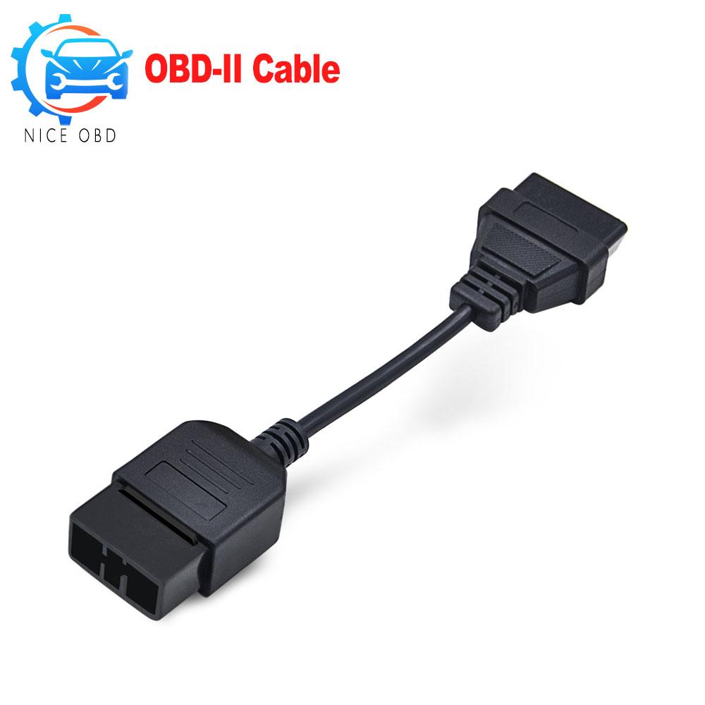 [해외]Subaru 9Pin에 16Pin 여성용 커넥터 Subaru 용 9Pin OBD2 / OBDII DLC 16Pin 여성용 자동차 진단 도구 어댑터 차고 도구/For Subaru 9Pin to 16Pin female Connector For Subaru 9Pin