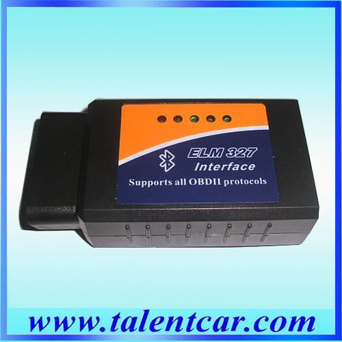 [해외]2pcs / lot 진단 도구 OBD2 OBD-II ELM327 V1.5 블루투스 자동차 진단 인터페이스 스캐너 작동? ? ???? ??/2pcs/lot Diagnostic Tool OBD2 OBD-II ELM327 V1.5 Bluetooth Car Diagno