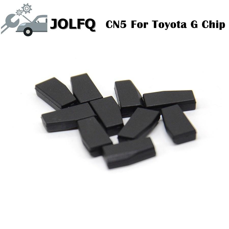 [해외]CN900 또는 ND900 키 프로그래머 10pcs / lot에 대 한 100 % 원래 CN5 자동차 키 칩 복사본 T-o-yo-ta G 자동 트랜스 폰더 칩/100% Original CN5 car key chip copy T-o-yo-ta G auto tran
