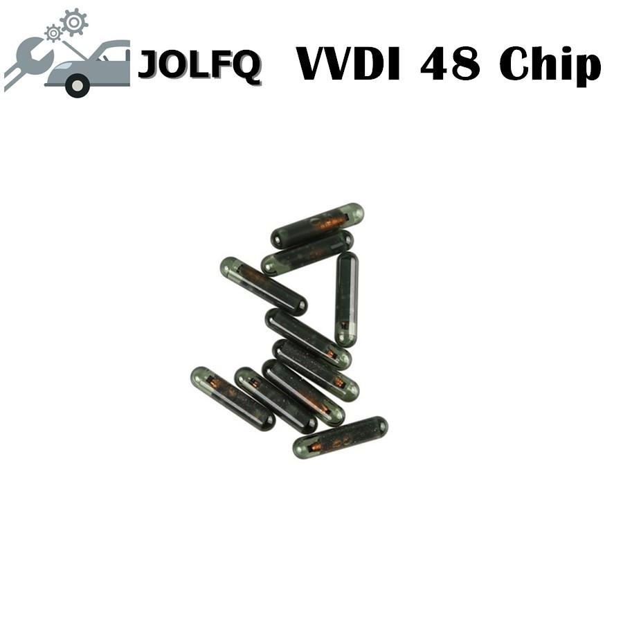 [해외]2018 원래 vvdi ID48 칩 XHORSE VVDI2 48 트랜스 폰더 자동차 키 복사 48 칩 VVDI2 주요 도구 ID48 칩 10pcs / lot/2018 Original vvdi ID48 chip for XHORSE VVDI2 48 Transpond