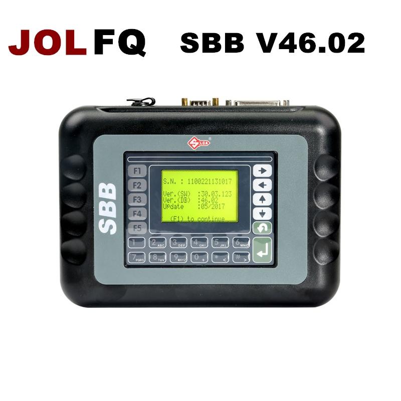 [해외]2018 SBB V46.02 자동 키 프로그래머 Silsa SBB OBD2 키 메이커 최신 버전 46.02 SBB V33보다 나은 V33 V33.2 V33.02 자동차 추가/2018 SBB V46.02 Auto Key Programmer Silsa SBB OBD