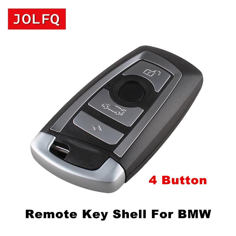 [해외]3/4 버튼 교체 BMW F CAS4 5 시리즈 7 시리즈 스마트 키 케이스 커버 용 스마트 리모트 카 키 셸/3 / 4 Buttons Replacement Smart Remote Car Key Shell For BMW F CAS4 5 Series 7 Serie