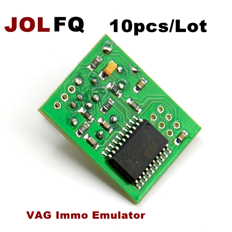 [해외]JOLFQ 10pcs Audi, VW, Vag immo 에뮬레이터를고품질의 VAG Immo 에뮬레이터 작동 이모 빌러 /JOLFQ 10pcs High quality VAG Immo Emulator working immobiliser for Audi, VW,Vag