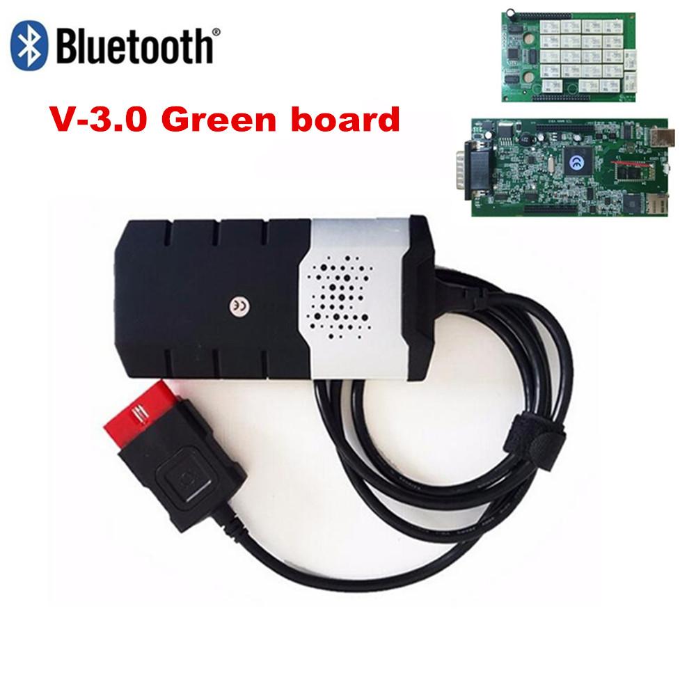 [해외]V3.0 보드 블루투스 Vd Ds150e Cdp 델파이 2015.3 / 새로운 2016.00에 대 한 새로운 VCI obd sacn tcs Cdp 프로 플러스 자동차 트럭 진단 도구/V3.0 board Bluetooth Vd Ds150e Cdp NEW VCI f