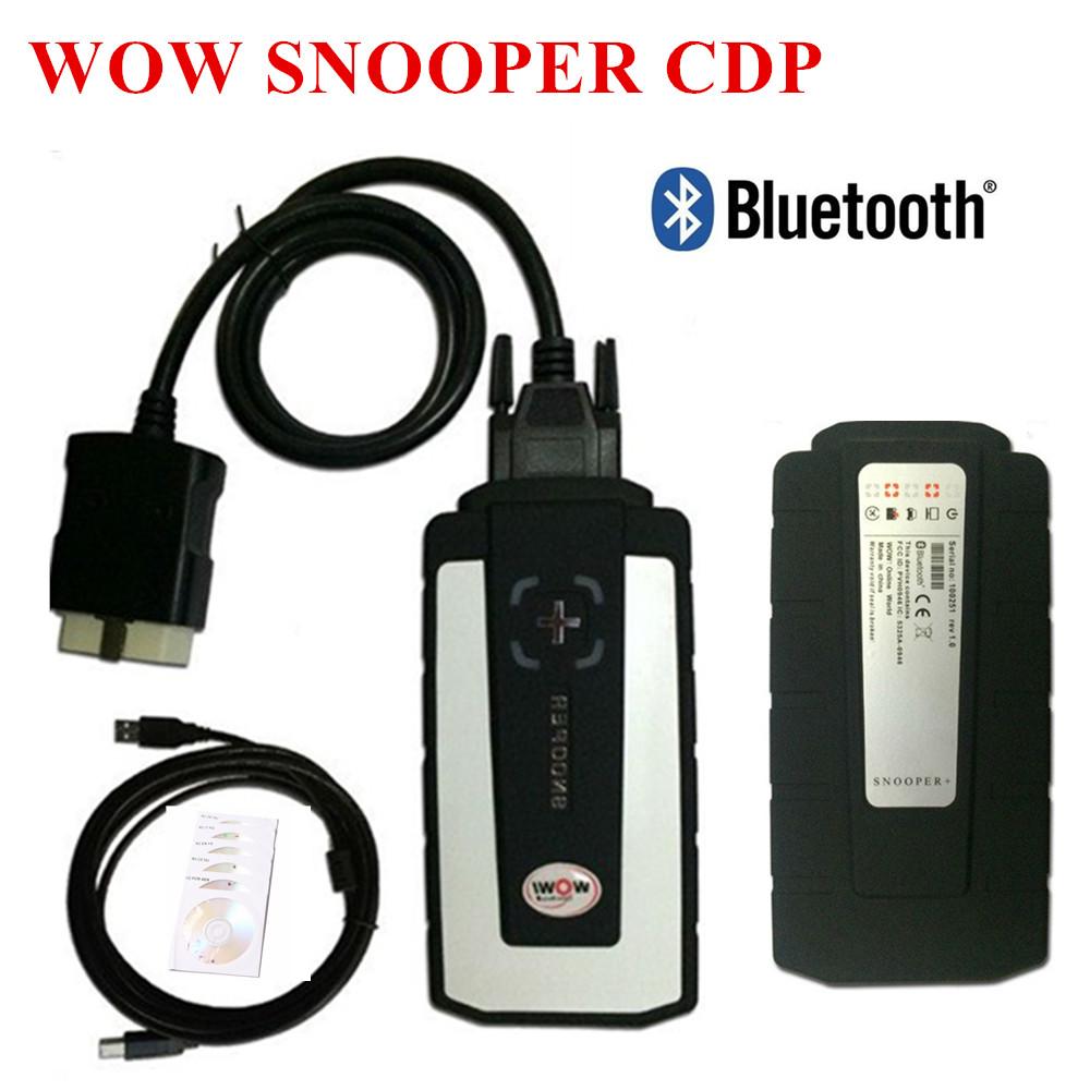 [해외]Real 5.008R2 + 5.00.12 Keygen WOW Snooper CDP 블루투스 VD TCS CDP 프로 OBD2 스캔 차량용 트럭 New Vci Multi Language/Real 5.008R2+5.00.12 Keygen WOW Snooper CDP
