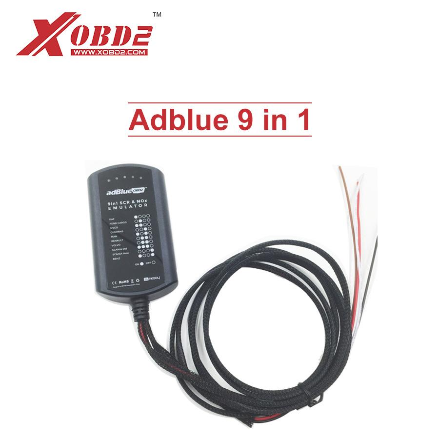 [해외]최신 Adblue 9 in 1 범용 Adblue 에뮬레이터 모든 소프트웨어 필요 없음 9in1 트럭 AdBlue 9 종류 트럭 용 에뮬레이션 상자/Newest Adblue 9 in 1 Universal Adblue Emulator NOT NEED ANY SOFT