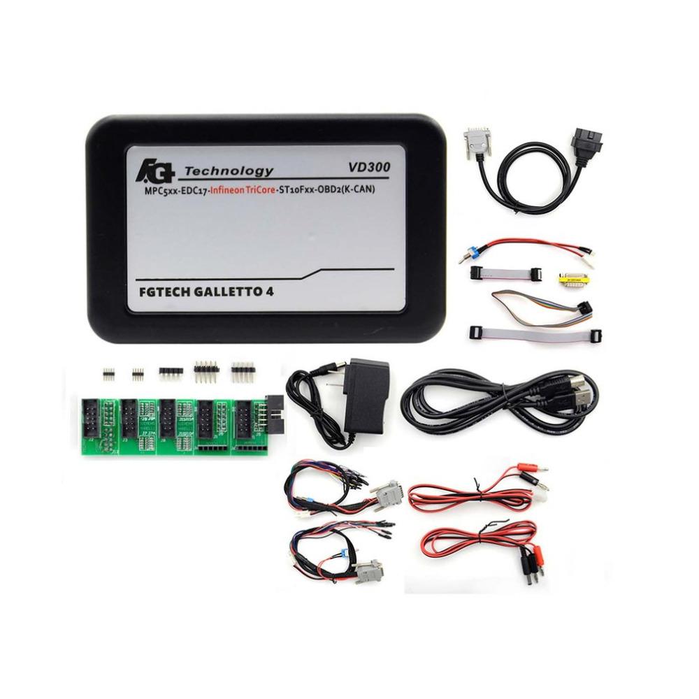 [해외]VD300 V54FG 전문 자동차 ECU 프로그래머 도구 BDM OBDII 풀 세트 마스터 휴대용 진단 결함 스캐너 도구/VD300 V54FG Professional Car ECU Programmer Tool BDM-OBDII Full Set Master Por