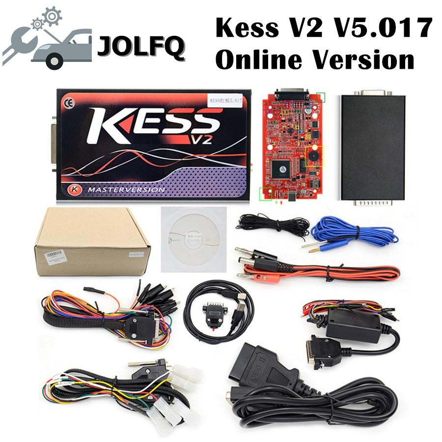 [해외]dhlECU를 통한 무료 프로그래밍 툴 온라인 KESS V2 No Token OBD2 Manager 튜닝 키트 스캐너 Red PCB KESS V2 V2.23 V5.017/Free via dhlECU Programming Tool Online KESS V2 No