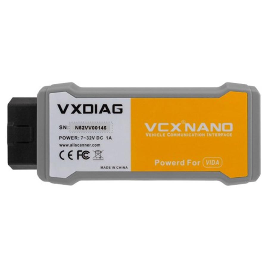 [해외]볼보 자동차 진단 도구에 대한 VXDIAG VCX 나노 V2014D 볼보 비다 주사위 대체/VXDIAG VCX NANO V2014D For Volvo Car Diagnostic Tool Replace Volvo Vida Dice