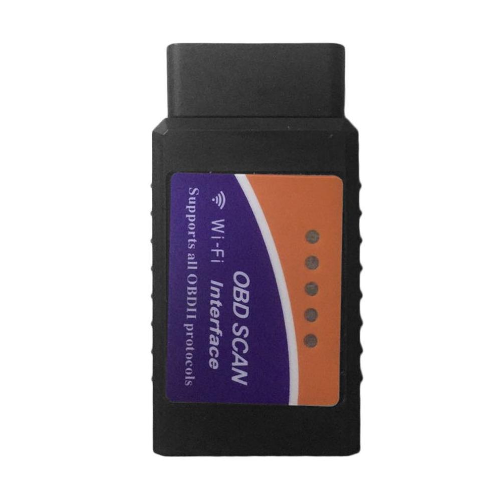[해외]미니 ELM327 와이파이 인터페이스 OBD2 OBDII 자동차 스캐너 진단 엔진 도구 iOS 용 OBD2 차량 코드 리더 스캔 도구? ? ???? ?? PC/Mini ELM327 WIFI Interface OBD2 OBDII Car Scanner Diagnos