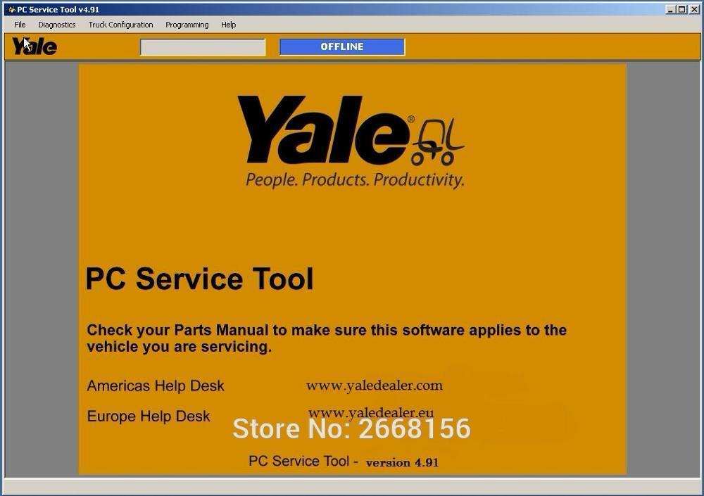 [해외]2018 최신 버전 yale PC 서비스 도구 v4.91 프로그램/2018 Newest Version yale  PC Service Tool v4.91 program