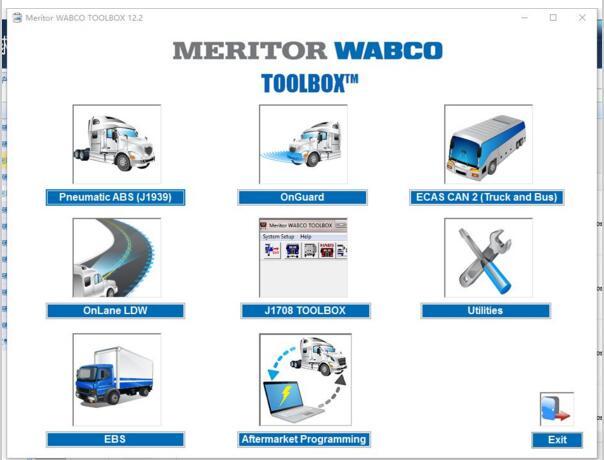 [해외]2018 Meritor Wabco Toolbox 12.6.1 + 패치 [무제한 설치]/2018 Meritor Wabco Toolbox 12.6.1 + patch [unlimited install]