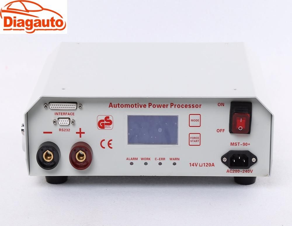 [해외]Diagauto MST-90 + 지능형 자동차 전력 프로세서 120A ICOM 코딩 용 자동 전압 조정기 안정기 220V MST-90/Diagauto MST-90+ Intelligent Automotive Power Processor 120A Auto Volta