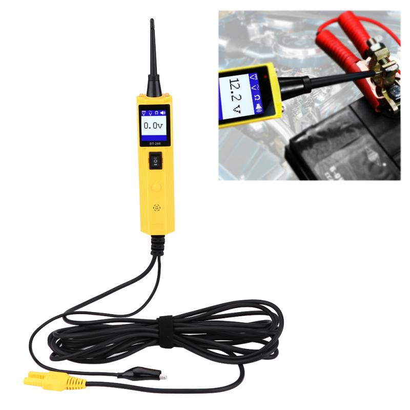 [해외]자동차 자동차 회로 테스터 전기 시스템 진단 도구 전력 프로브 전압 테스트 전기 테스터/Car Automotive Circuit Tester Electrical System Diagnostic Tool Power Probe Voltage Test Electric