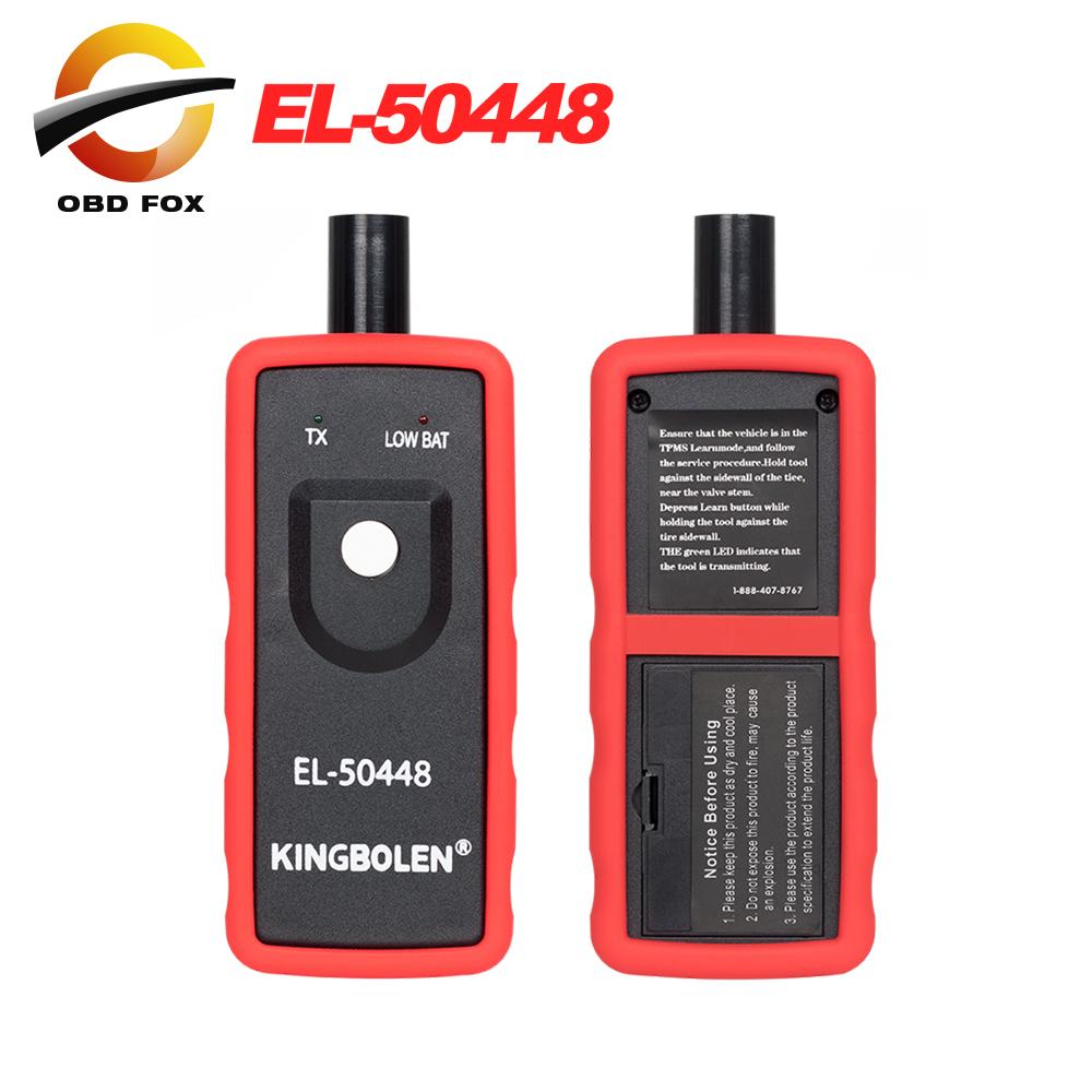 EL50448 자동 타이어 Presure 모니터 센서 OEC-T5 EL-50448 Opel TPMS 재설정 도구 용 GM 용 Ford 용 el 50448 el50449 /EL50448 Auto Tire Presure Monitor Sensor OEC-T5 EL-