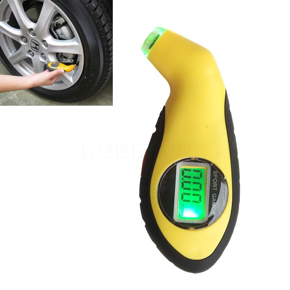 Kebidumei 최신 디지털 lcd 자동차 타이어 타이어 공기 압력 게이지 미터 압력계 기압계 테스터 도구 자동차 자동차 오토바이