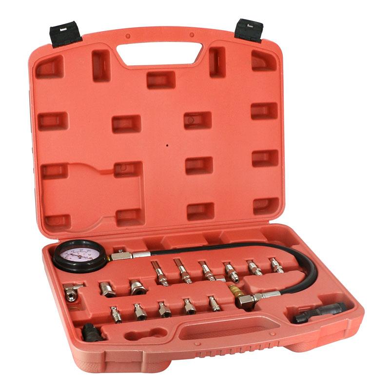 [해외]자동차 용 도구 TU-15A 디젤 엔진 압축 시험기 키트 엔진 압력 게이지 세트 01000psi/Automotive Tools TU-15A Diesel Engine Compression Tester Kit Engine Pressure Gauge Set 01000