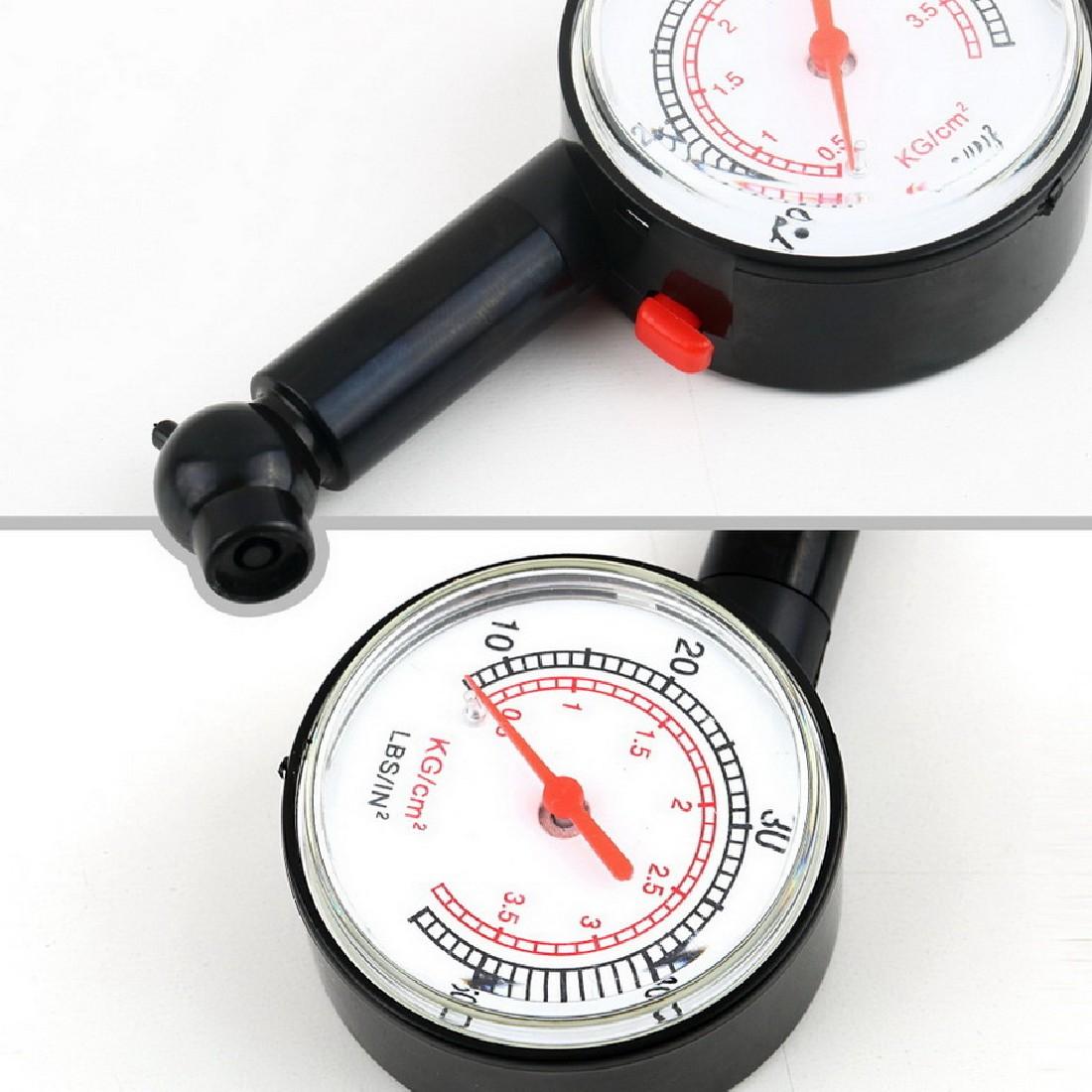 새로운 미터 타이어 압력 게이지 자동 자동차 자전거 모터 타이어 공기 압력 게이지 미터 차량 테스터 모니터링 시스템
