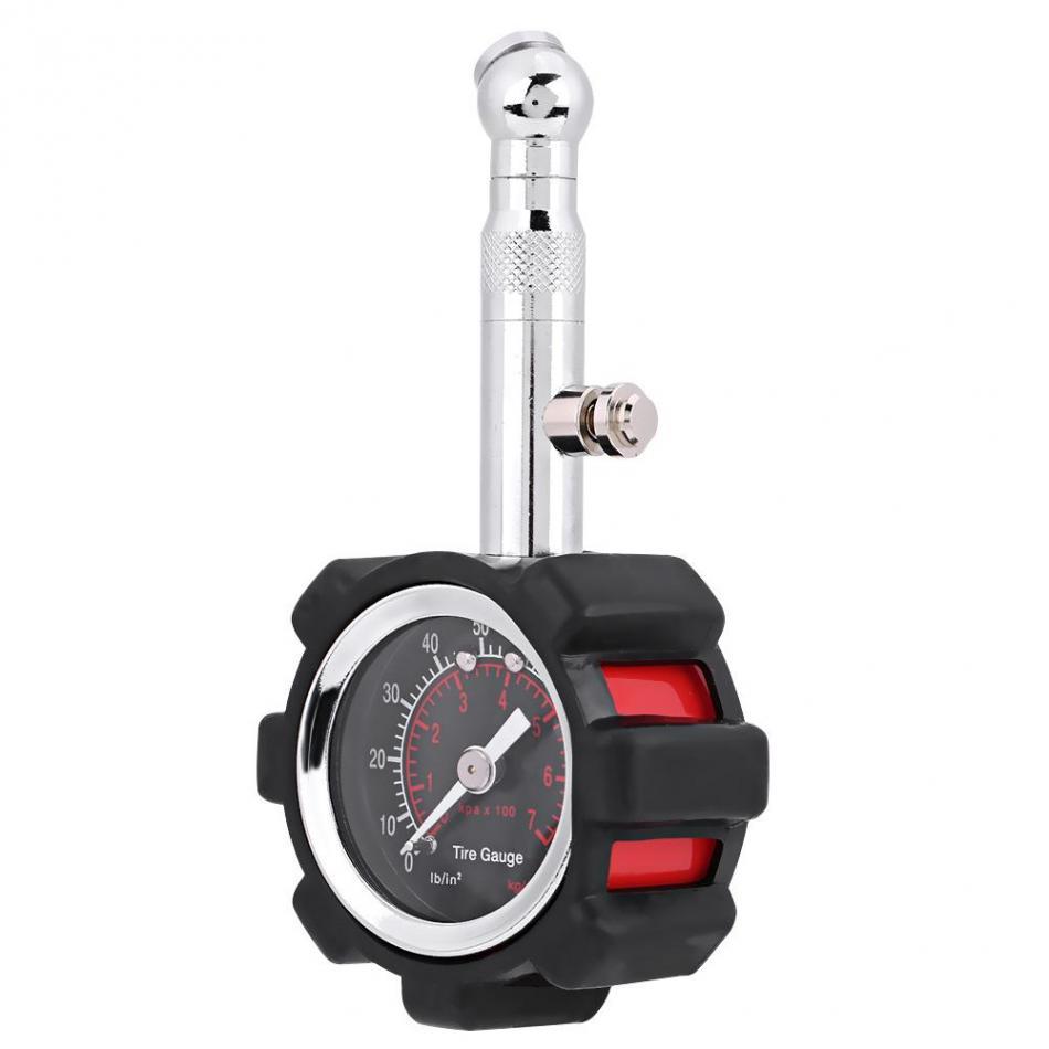 [해외]수동 손 0 - 100PSI 자동차 공기 청정기에 대한 타이어 공기 압력 게이지 미터 테스터 오토바이 자전거 자동차 액세서리/Manual Hand 0 - 100PSI Tire Air Pressure Gauge Meter Tester for Car Truck Mo