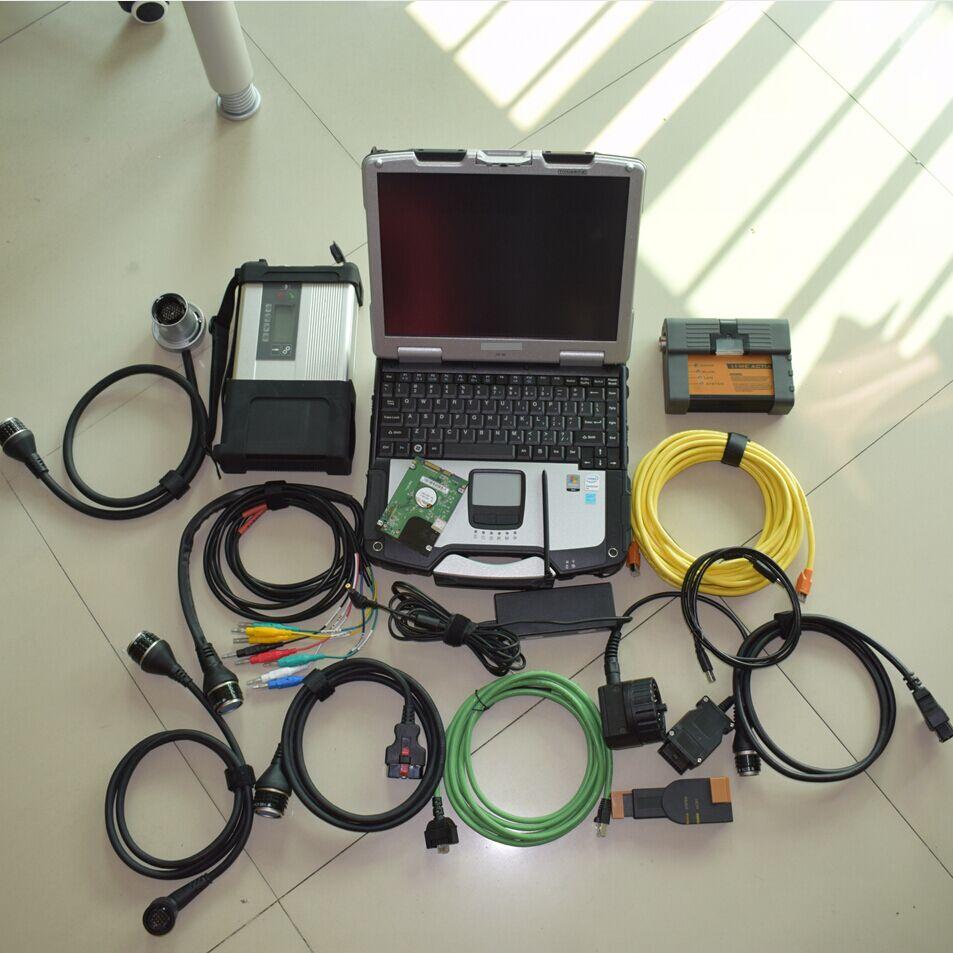 2020 슈퍼 mb 스타 c5 bmw icom a2 b c 2IN1 최신 소프트웨어 hdd 1 테라바이트 하나의 노트북 cf30 toughbook 풀 세트 진단 스캐너