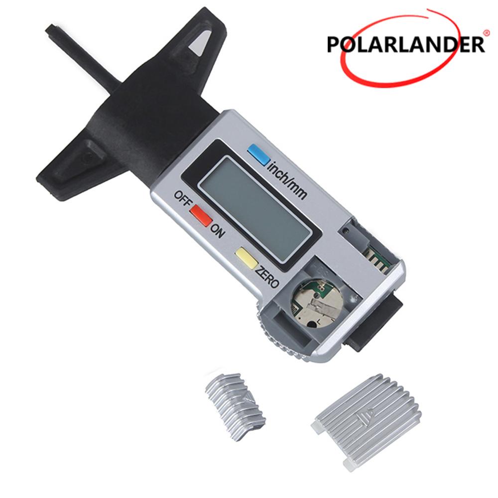 [해외]자동차 타이어 깊이 게이지 브레이크 슈 게이지 자동차 타이어 깊이 게이지 테스터 Polarlander LCD 디스플레이 타이어 트레드 깊이 게이지/Car tyre depth gauge brake shoe gauge car tyre depth guage teste