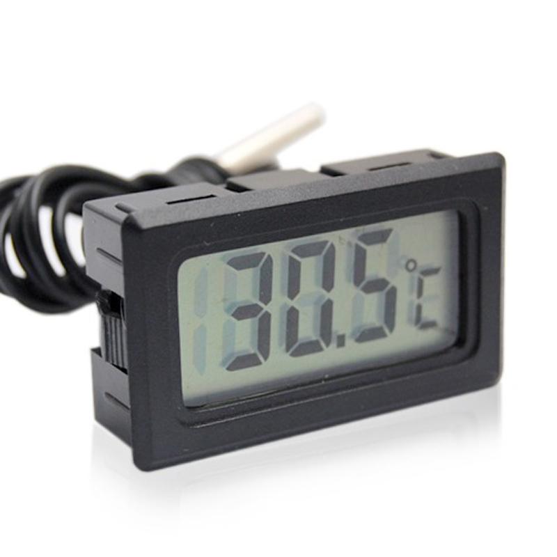[해외]디지털 LCD 디스플레이 실내 온도계 진단 도구 온도계 온도 센서