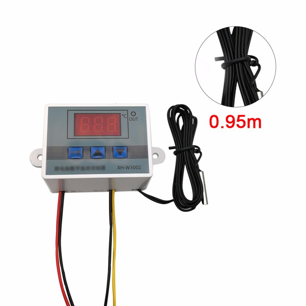 [해외]자동차 진단 도구 12V LED 디지털 온도 조절기 온도 컨트롤러 온도 센서 제어 릴레이/Car Diagnostic Tools 12V LED Digital Thermostat Temperature Controller Temp Sensor Control Relay