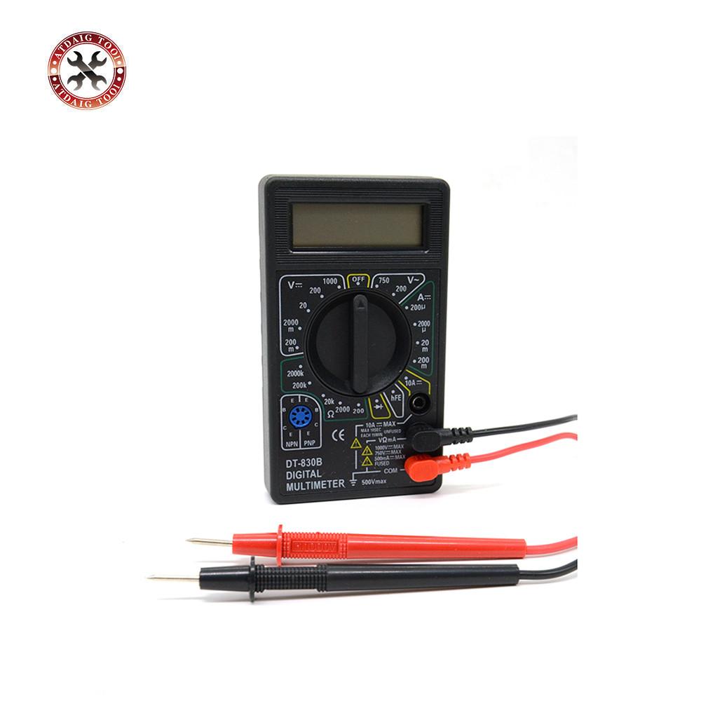[해외]전문 디지털 멀티 미터 DT830B AC / DC 전류계 전압계 옴 전기 테스터 미터 베스트셀러/Professional Digital Multimeter DT830B AC/DC Ammeter Voltmeter Ohm Electrical Tester Meter B