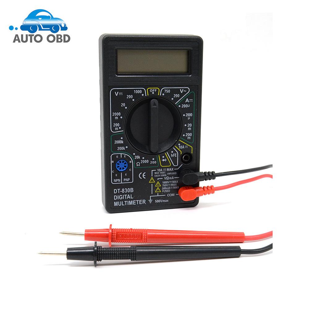 [해외]최신 DT830B 전문 디지털 멀티 미터 DT830B AC / DC 전류계 전압계 옴 전기 테스터 미터/Newest DT830B Professional Digital Multimeter DT830B AC/DC Ammeter Voltmeter Ohm Electri