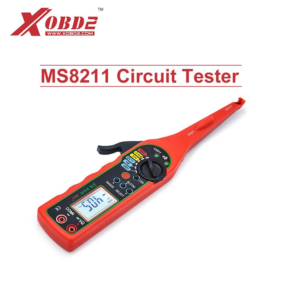 [해외]Jiaxun MS8211 전력 다기능 자동 회로 테스터 자동차 전기 멀티 미터 램프 자동차 수리 자동차 감지기/Jiaxun MS8211 Power Electric Multi-function Auto Circuit Tester Automotive Electrica
