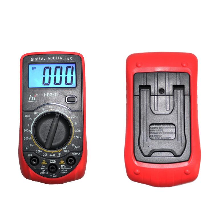 [해외]?저렴한 가격 멀티 미터 포켓 디지털 멀티 미터 HD33-D 레드 컬러/ low price Multimeter Pocket Digital Multimeter Meter HD33-D Red Color