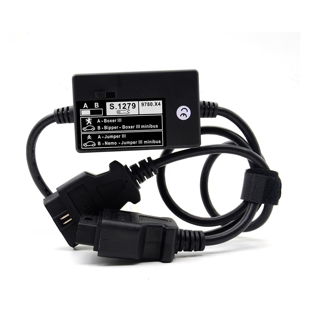 [해외]새로운 모듈 S.1279 새로운 자동차를Lexia PP2000 진단 커넥터 S1279 푸조 시트로엥에 대한 복서 점퍼 III 프로 페셔널 Lexia3/New Module S.1279 Lexia PP2000 Diagnostic Connector S1279 For