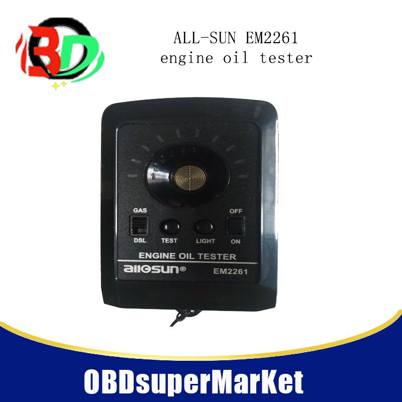 [해외]5pcs / lot ALL SUN 올 - 일 EM2261 엔진 오일 테스터는 트럭, 트랙터, 보트, 제초기, ATV, 오토바이 또는 기타 가스 또는 D에서 작동합니다/5pcs/lot ALL SUN all-sun  EM2261 Engine Oil Tester wo