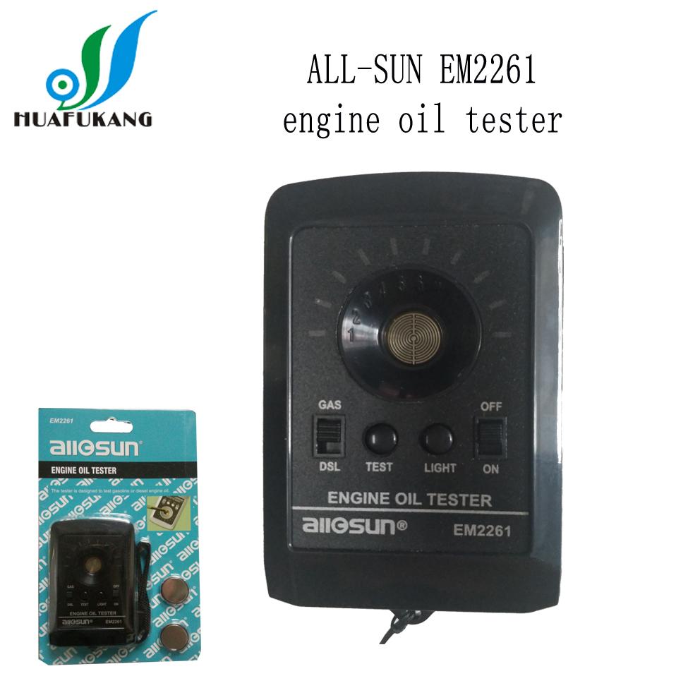 [해외]5pcs / lot ALL 일요일 EM2261 엔진 오일 Testerfast 배송/5pcs/lot ALL SUN  ALL-SUN EM2261 Engine Oil Testerfast shipping