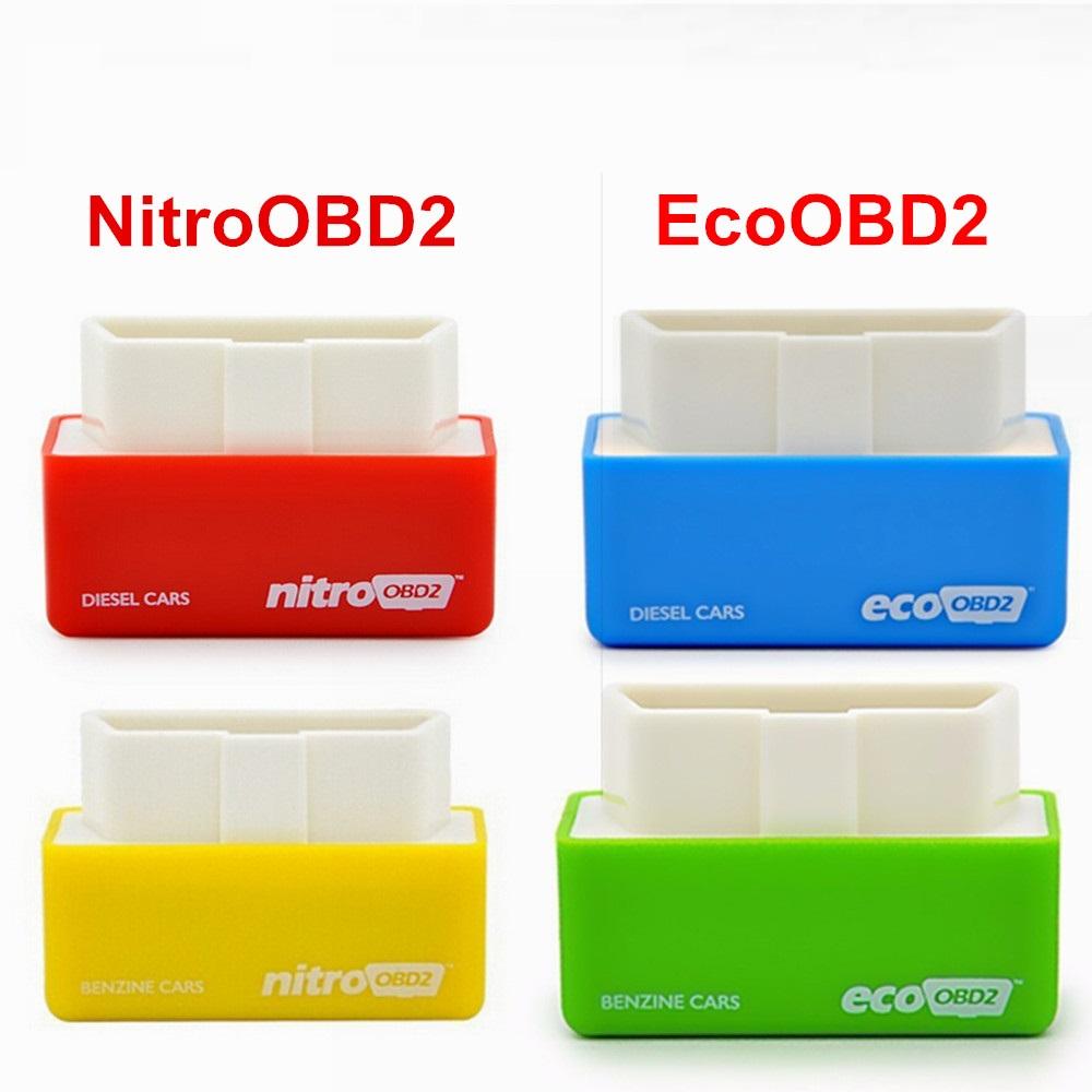 [해외]새로운 자신의 드라이버 자동차 칩 튜닝 성능 상자 NitroOBD2 EcoOBD2 플러그 앤 드라이버 OBD2 인터페이스 NITRO OBD2 ECO OBD2/New Your Own Driver Car Chip Tuning Performance Box NitroO
