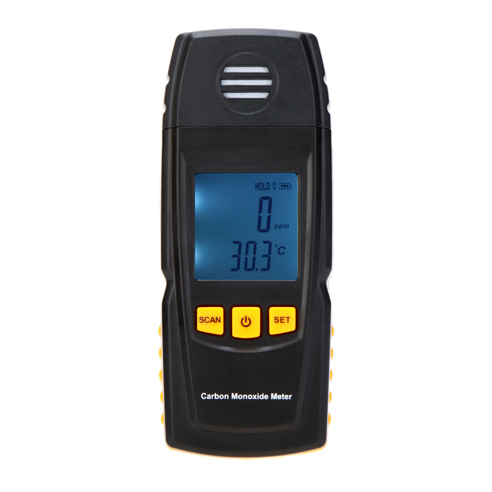 [해외]일산화탄소 미터 높은 정밀도 휴대용 CO 가스 감시 탐지기 게이지 0-1000ppm 디지털 가스 누출 검사기/Carbon Monoxide Meter High Precision Portable CO Gas Monitor Detector Gauge 0-1000ppm