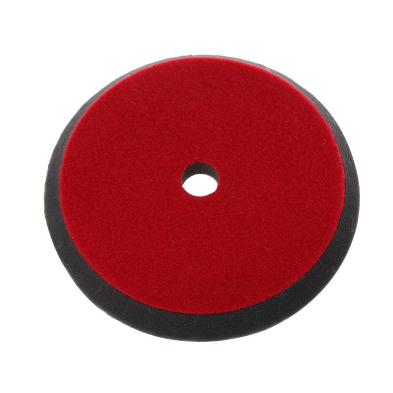 [해외]6 & 150mm 자동차 자동 소프트 양모 버핑 연마 패드 Professional Detailing Mixed Color/6& 150mm Car Auto Soft Wool Buffing Polishing Pad Professional Detailing M