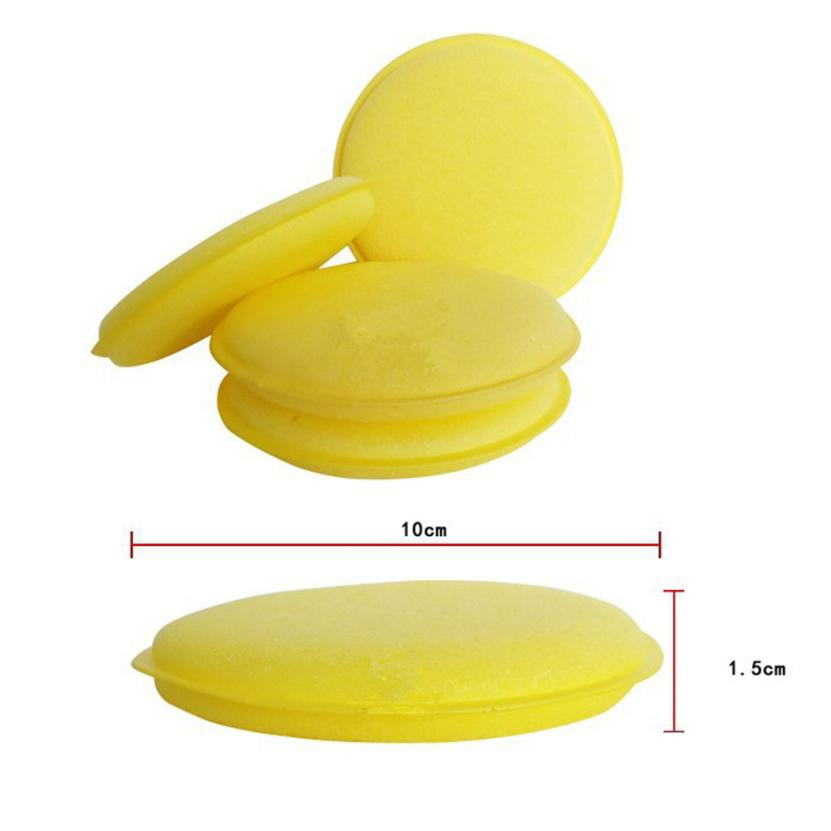 [해외]자동차 스타일링 shunwei 10pcs 세련 된 닦 았 스폰지 세탁기 라운드 슈퍼 고밀도 041330 dropship/Car-styling shunwei 10pcs Flattened Polished Waxing Sponge Washing Cleaner Roun