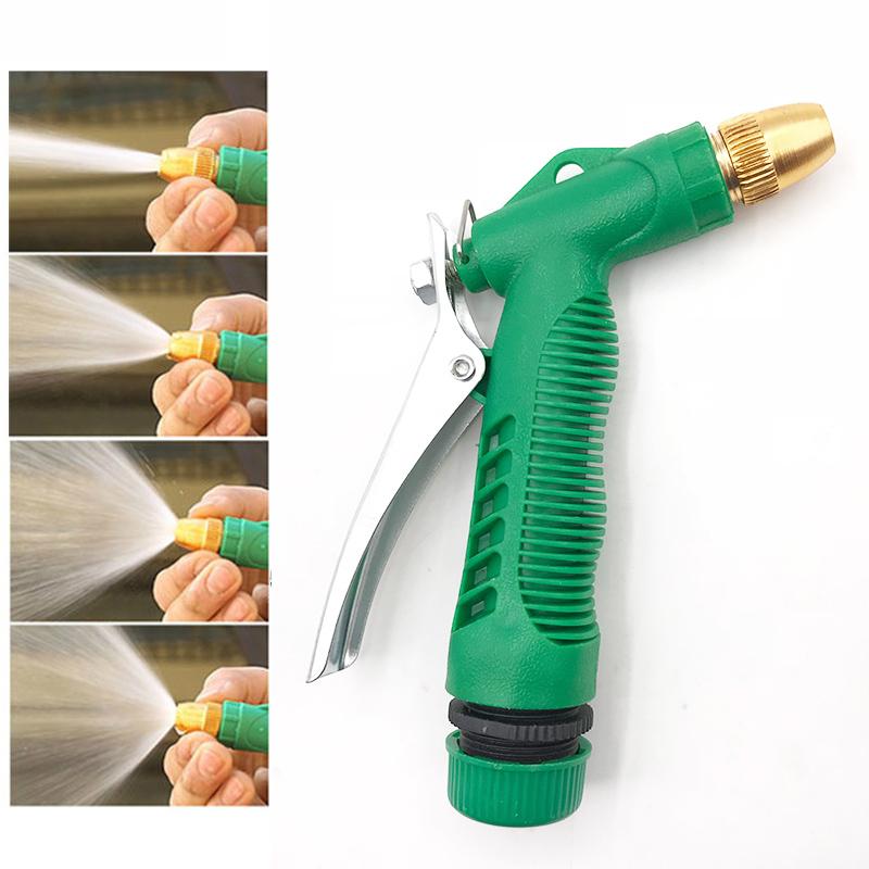 [해외]세차 용 워터 건 고압 압력 구리 건 헤드 세차기 4 Working Models 자동차 와셔 도구/Car Wash Water Gun High Voltage Pressure Copper Gun Head Car Washing Machine 4 Working Mode