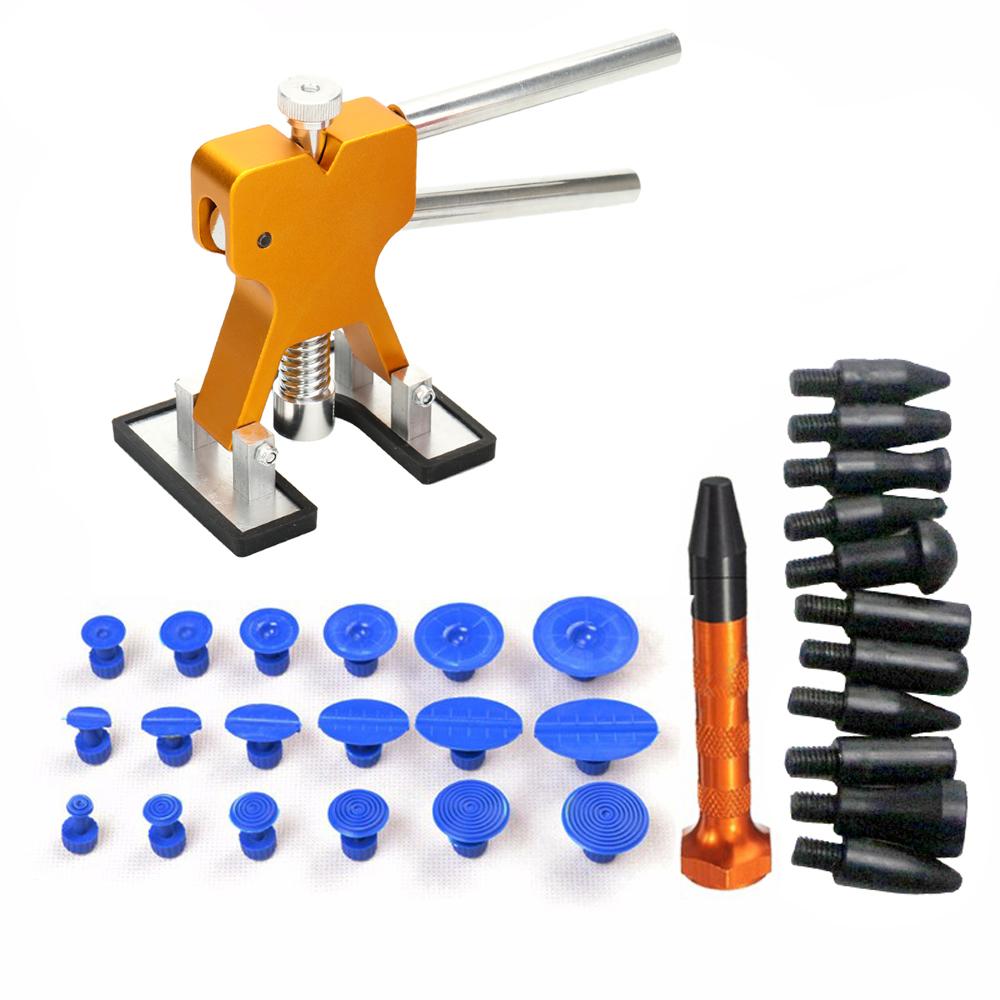 [해외]31pcs 자동차의 페인트 스테인레스 스틸 다리 페인트가없는 덴트 수리 도구 키트 정장/31pcs Repair Stainless Steel Bridge of Cars Paintless Dent Repair Tools Kit Suit of Auto